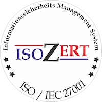 C-MOR managed Video Surveillance Systems are ISO 27001 certified.