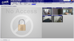 video surveillance password protection 300